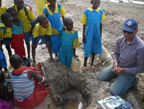 Water quality fieldtest - Africa2