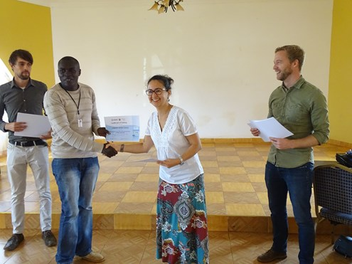 Certificate ceremony_Kenya RAPID workshop Marsabit_2017